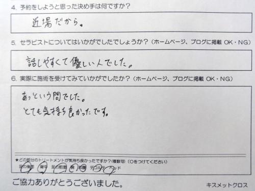 世田谷区在住 20代『会社員』みーちゃん様原型