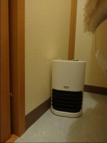 トイレ暖房②