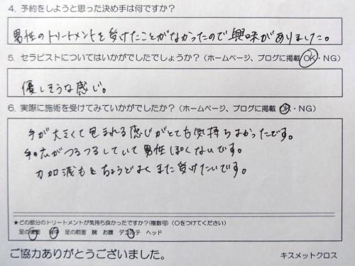 久喜市在住30代『エステティシャン』ちえこサマ原型