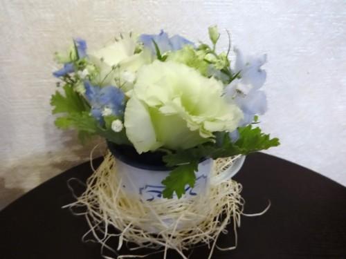 納多さん誕生日の花20160808