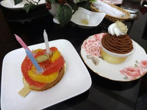 鈴木里恵さん誕生日ケーキ20160813原型
