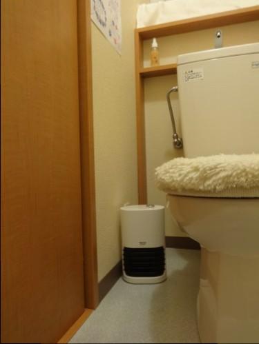 トイレ暖房①